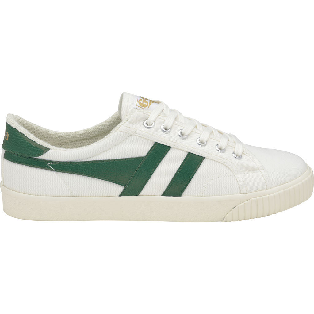 Gola Men's Mark Cox Tennis Sneakers | Off White/Dark Green