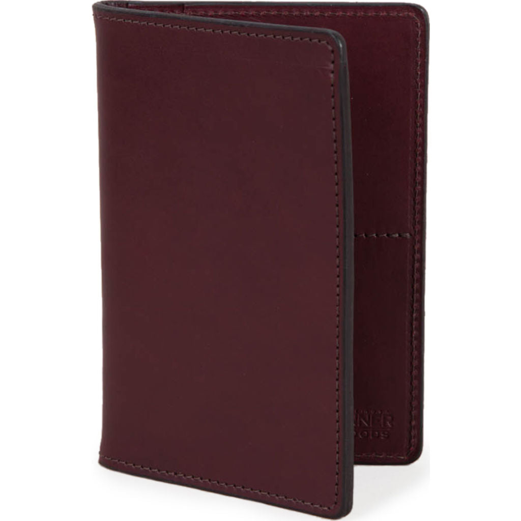 Tanner Goods Travel Wallet | Oxblood