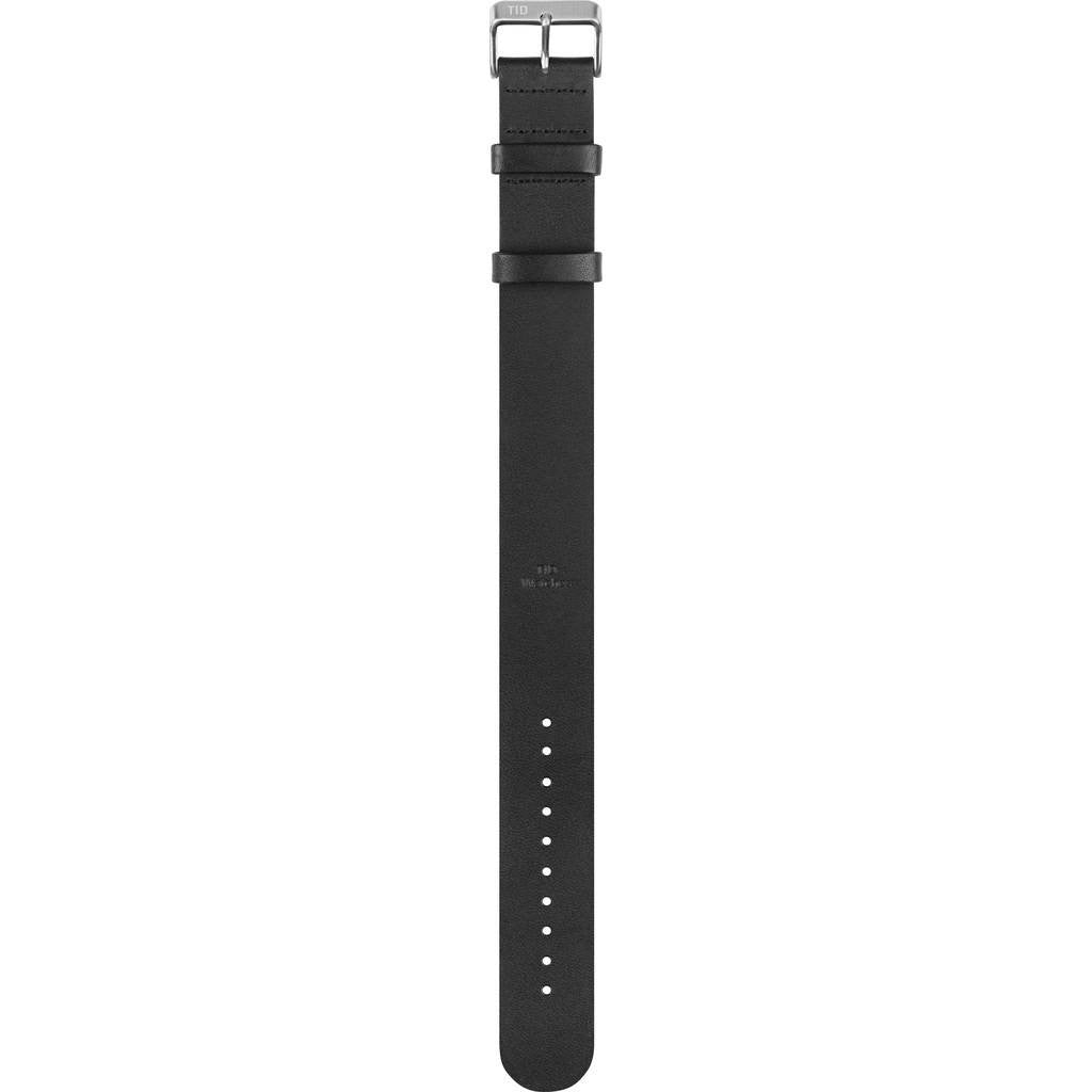 TID No. 2 Leather Watch Strap | Black 20500201