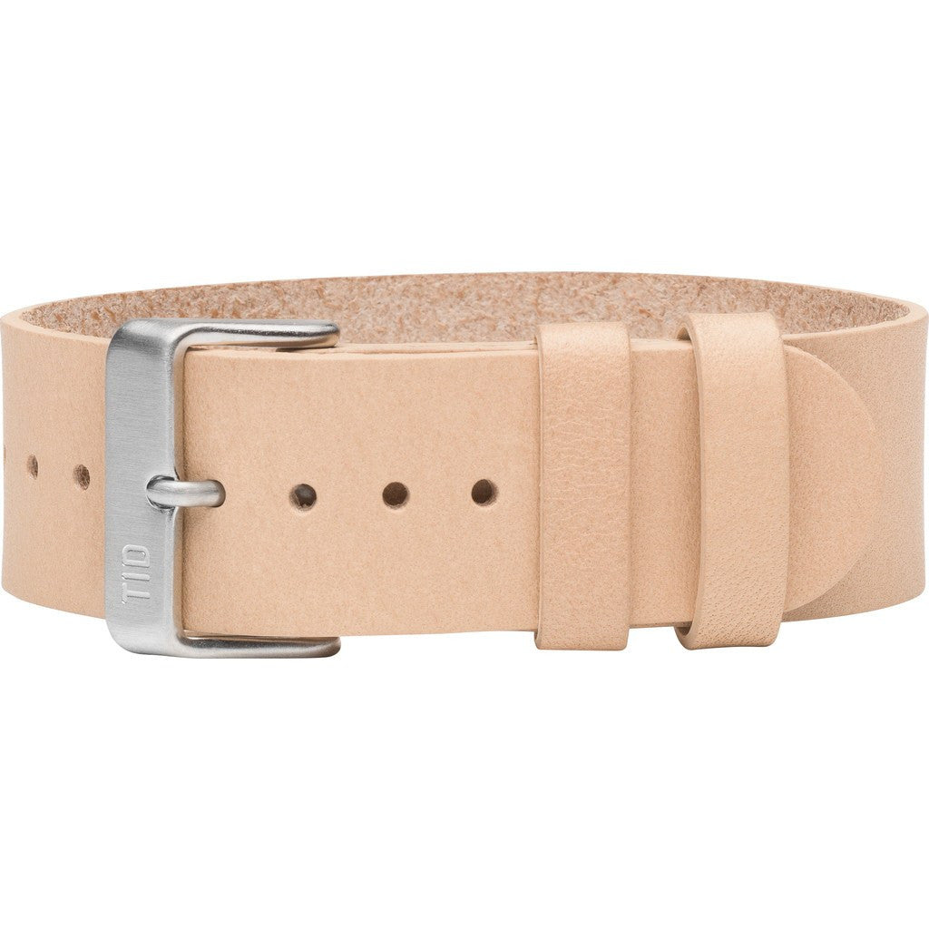 TID No. 2 Leather Watch Strap | Natural