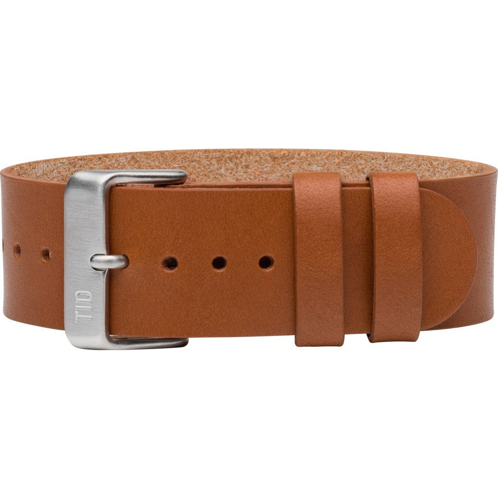 TID No. 2 Leather Watch Strap | Tan