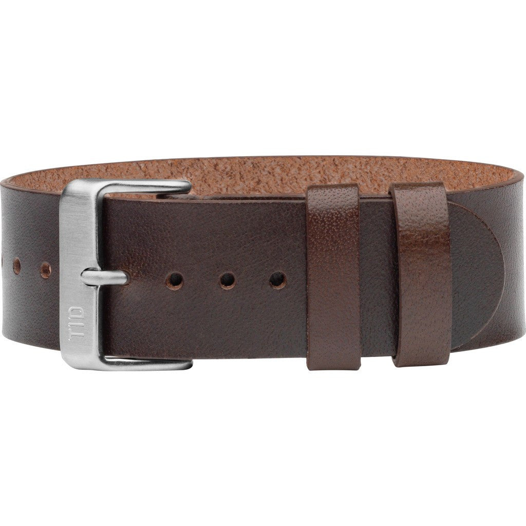TID No. 2 Leather Watch Strap | Walnut 20500203