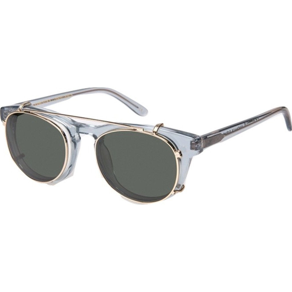 Han Kjobenhavn Timeless Clip-On Sunglasses | Grey Transparent Frame-TL-CO-9-SUN