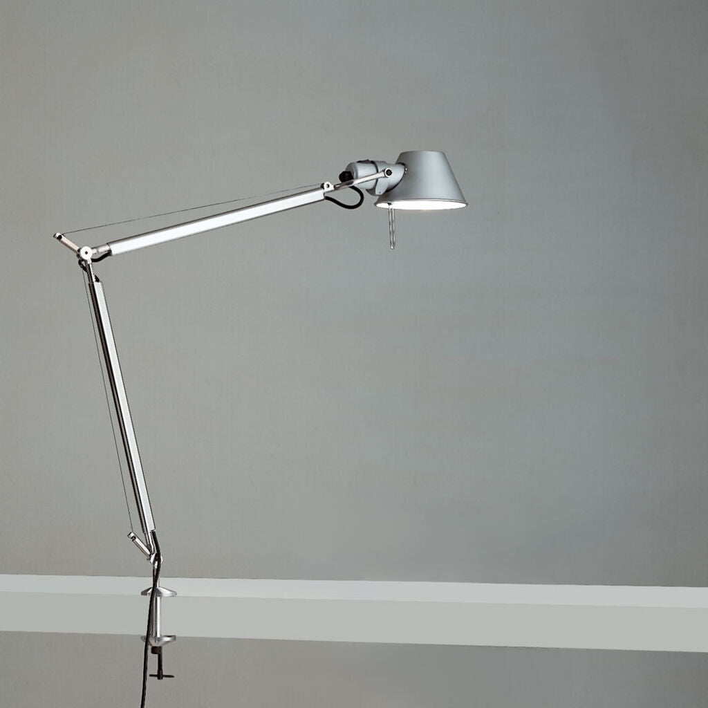 Artemide Tolomeo Table Lamp with Clamp