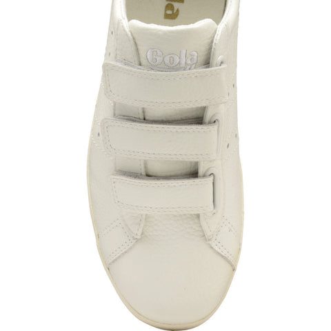 Gola Men's Tourist Leather Velcro Sneakers | Off White