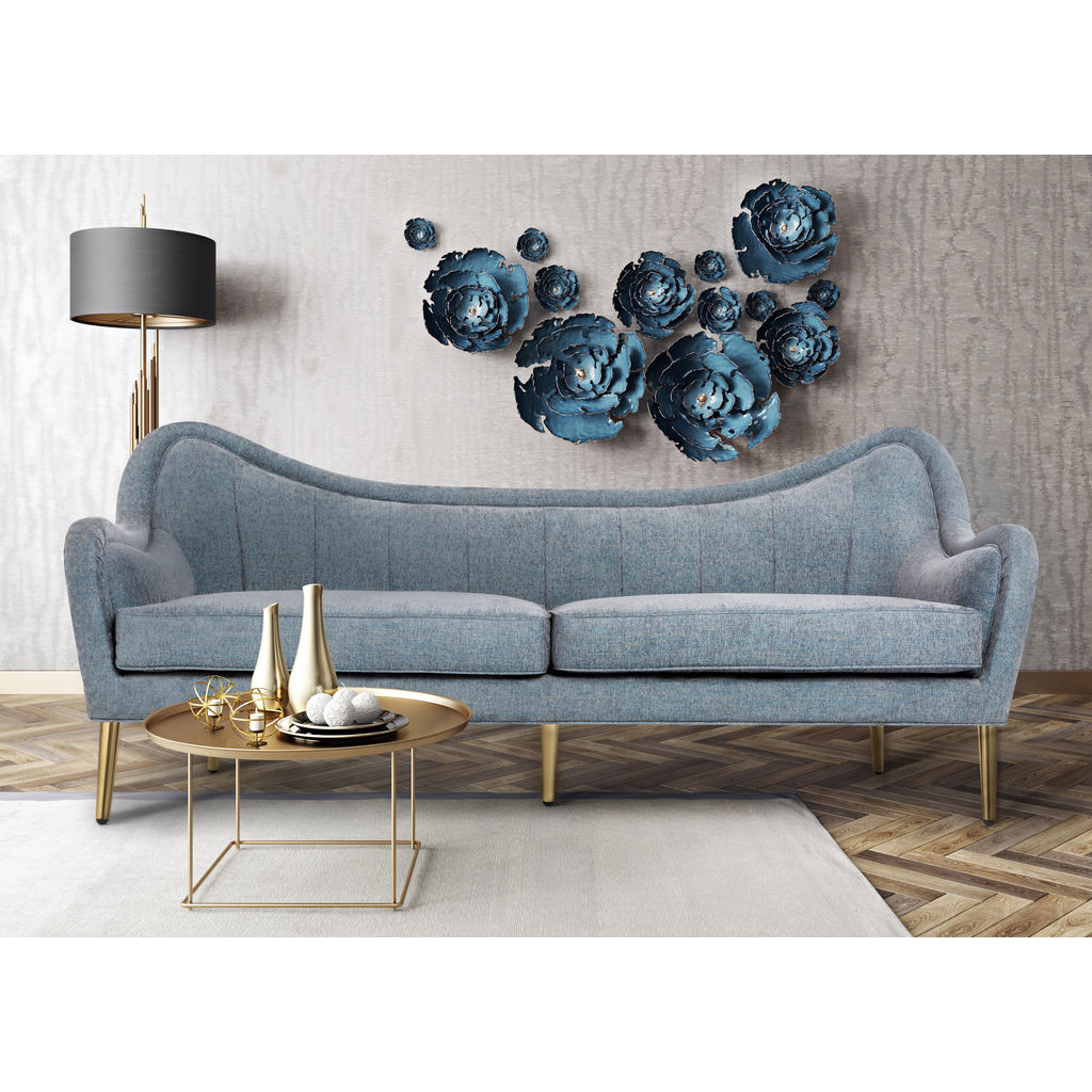 Tov Furniture Isadora Sofa Grey Sky Sportique
