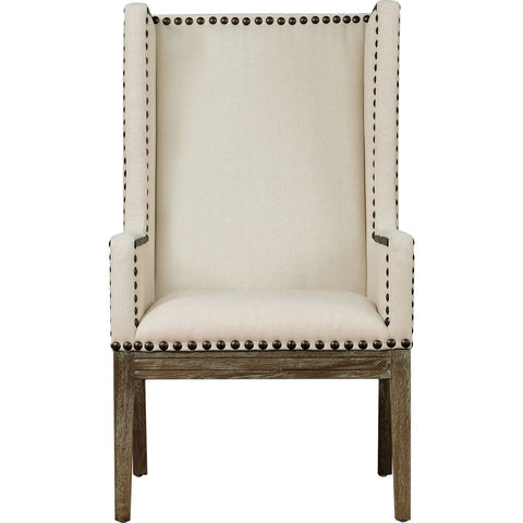 TOV Furniture Tribeca Linen Chair | Beige- TOV-TRI-BL