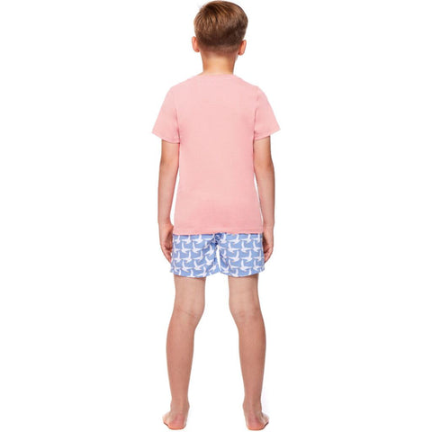 Tom & Teddy Boy's T-Shirt | Pink