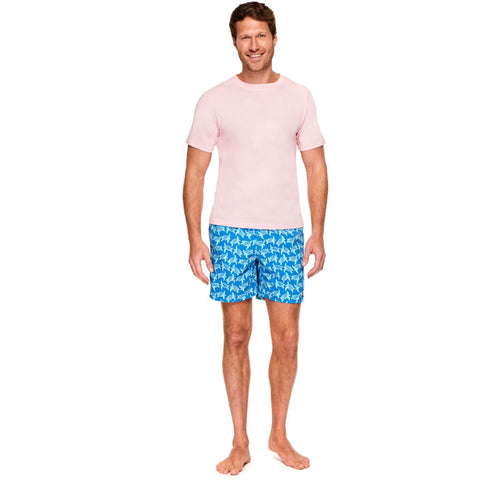 Tom & Teddy Men's T-Shirt | Pink