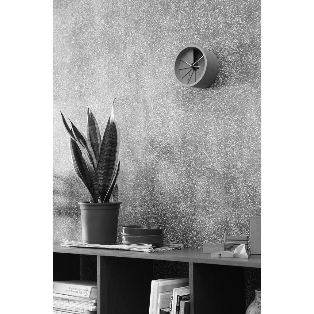 26 Design 4th Dimension Concrete Wall Clock | Blue / Gray CC01000