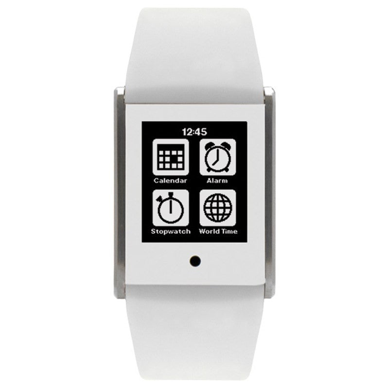 Phosphor Touch Time Digital White Silicone Special | TT004