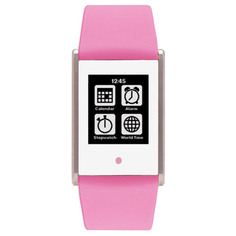 Phosphor Touch Time Digital Pink Silicone Special | TT006