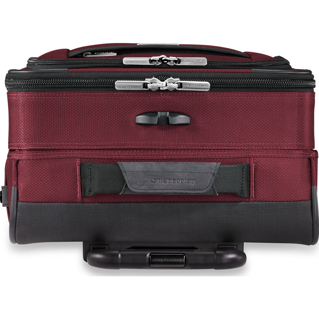 Briggs & Riley Transcend Tall Carry-On Expandable Spinner Suitcase | Merlot