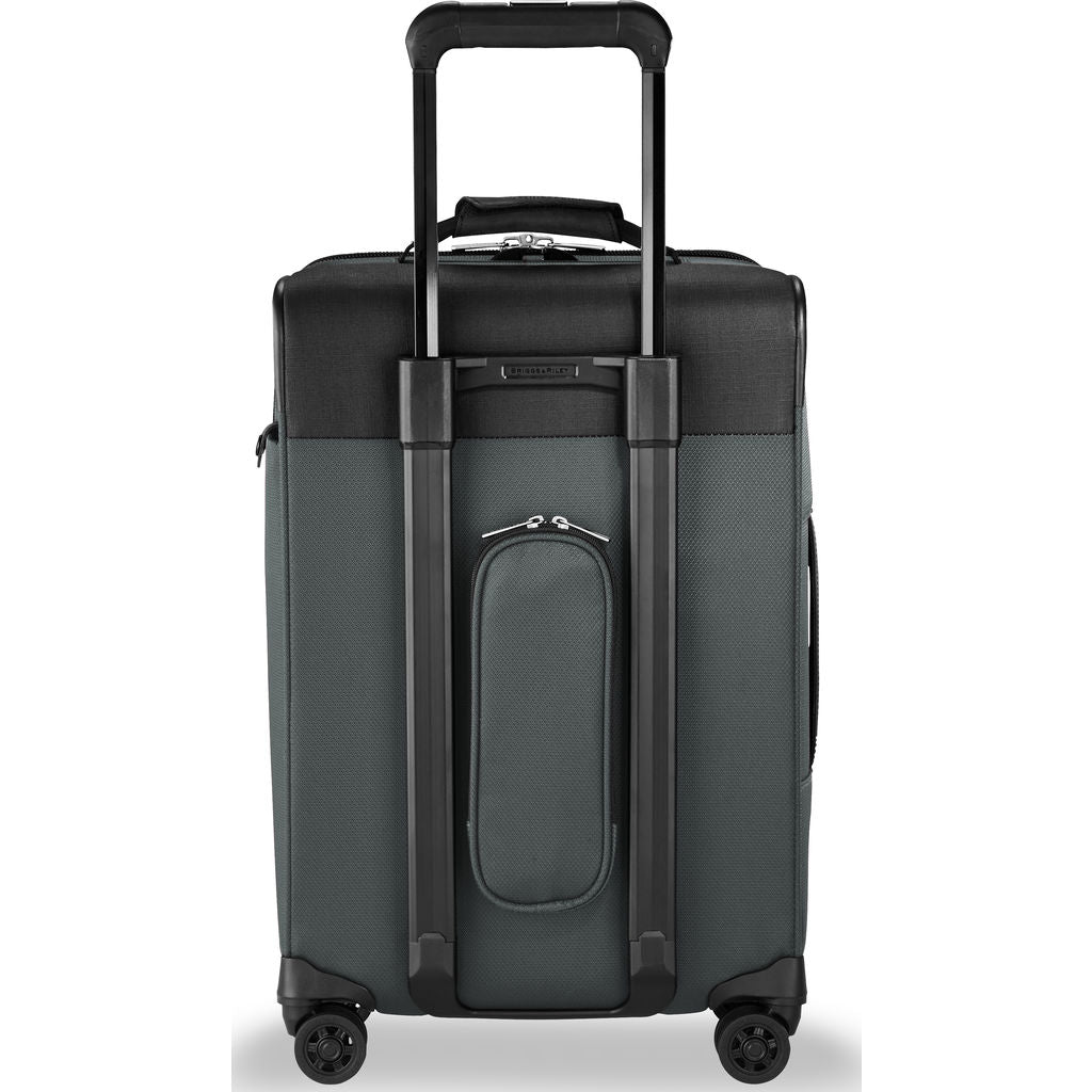 Briggs & Riley Tall Carry-On Expandable Spinner Suitcase  | Slate- TU422VXSP