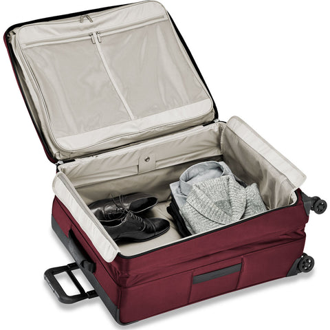 Briggs & Riley Transcend Large Expandable Spinner Suitcase | Merlot