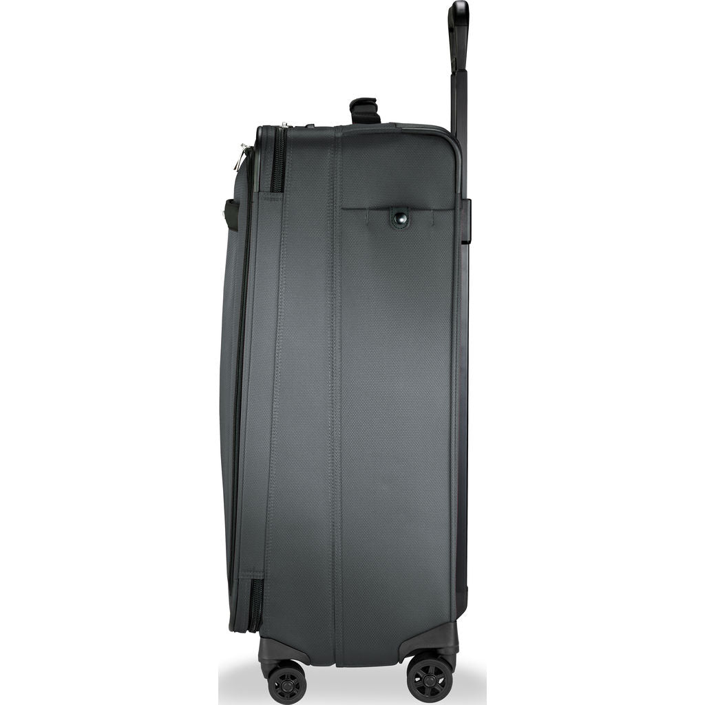 Briggs & Riley Large Expandable Spinner Suitcase | Slate