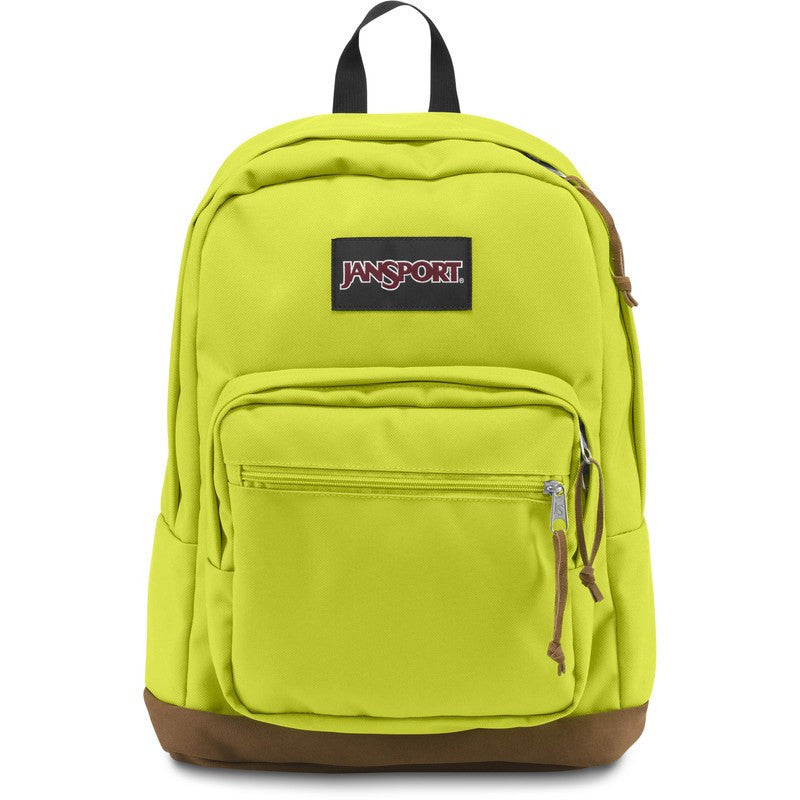 813165070 Jansport Right Pack Backpack Lime Punch - Sportique