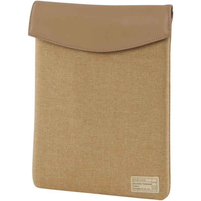 Hex Highland iPad Air 1/2 Sleeve | Tan Tweed