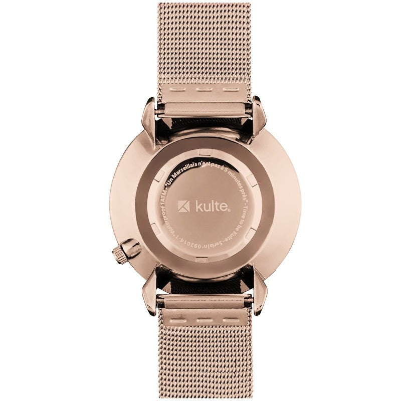 Kulte Tainted Love Rose Gold Watch | Rose Gold Mesh KPVD2