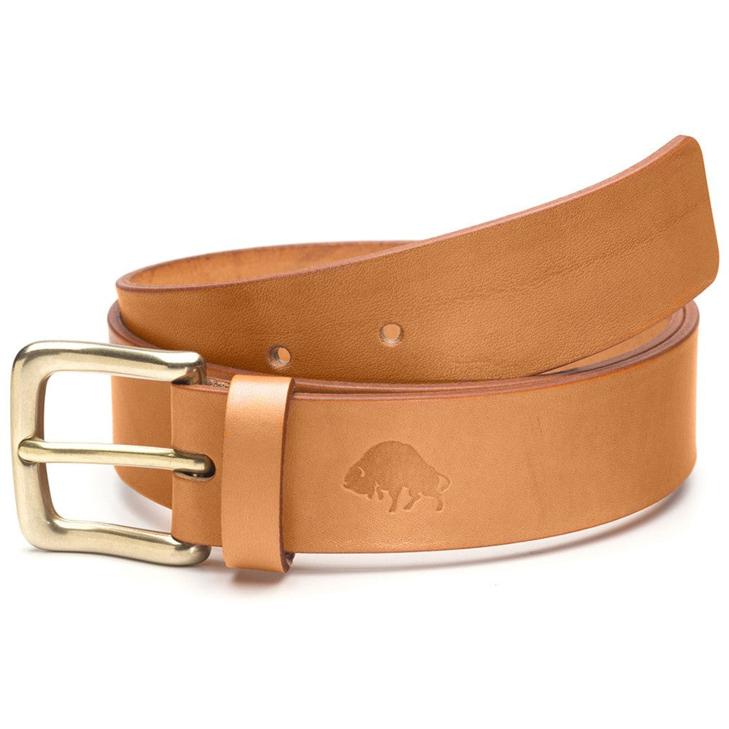 Ezra Arthur No. 1 Belt | Golden Tan/Brass Buckle Sizes 32-42 CBT118B