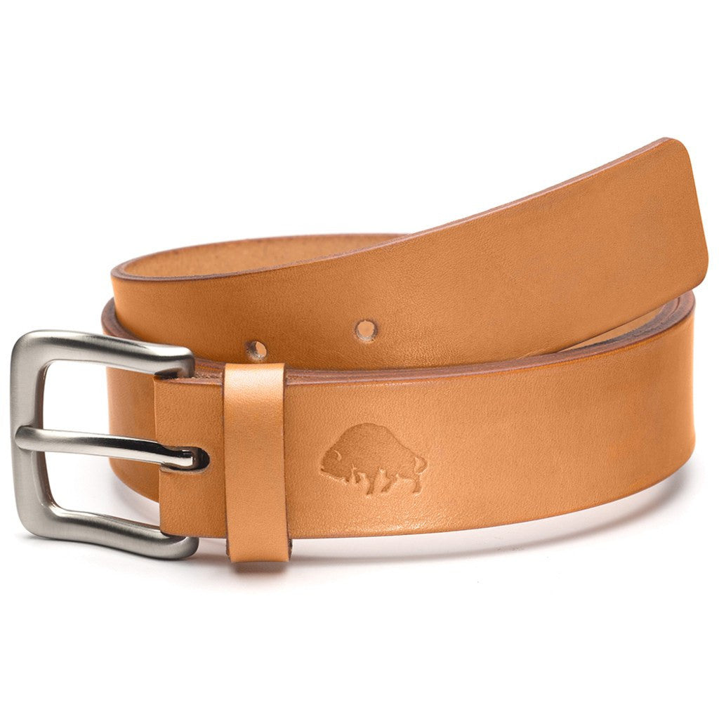 Ezra Arthur No. 1 Belt | Golden Tan/Nickle Buckle Sizes 32-42 CBT118N