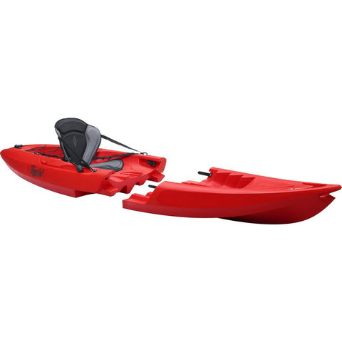 Point 65 Tequila! GTX Modular Solo Kayak | Red