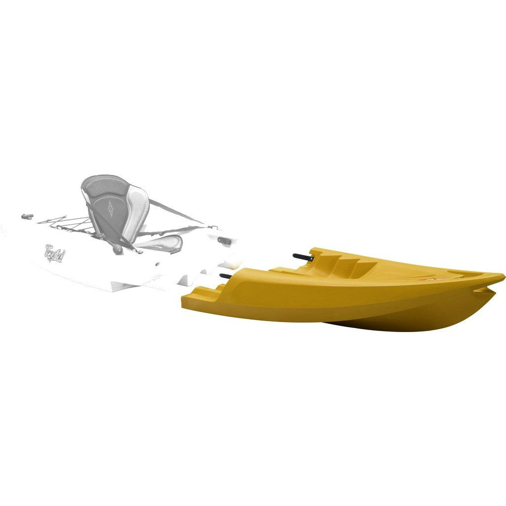 Point 65 Tequila! GTX Modular Kayak Front Section | Yellow