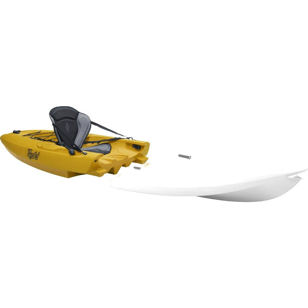 Point 65 Tequila! GTX Modular Kayak Back Section | Yellow