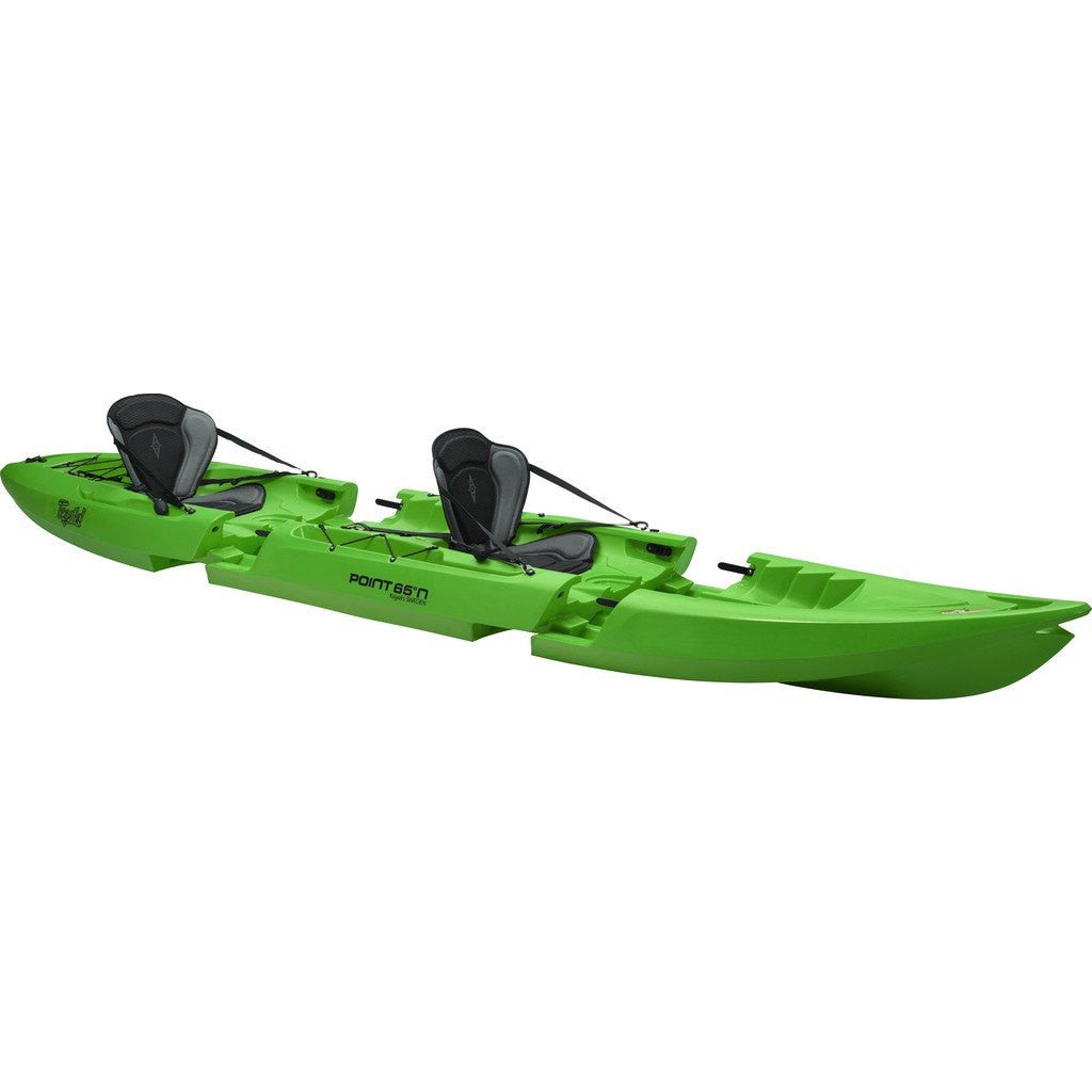 Point 65 Tequila! GTX Modular Kayak Front Section | Lime 31