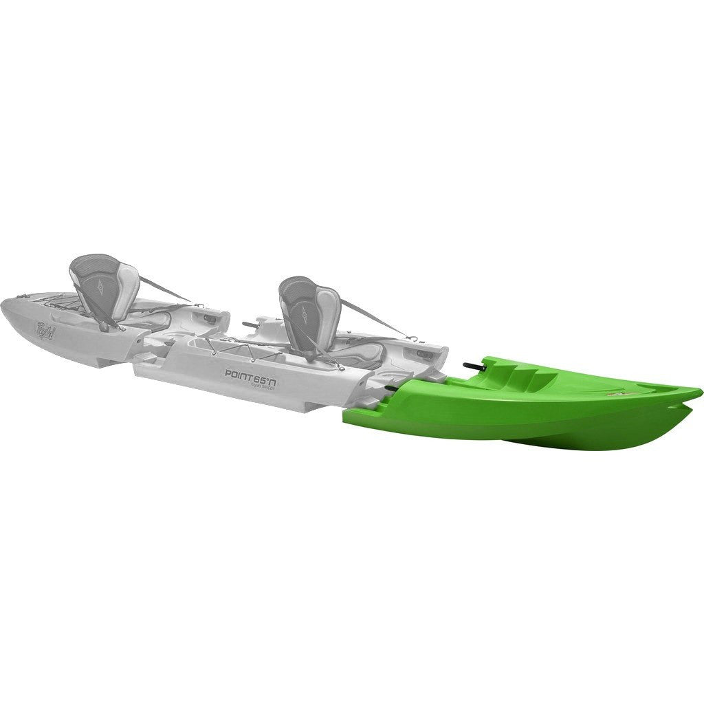 Point 65 Tequila! GTX Modular Kayak Front Section | Lime