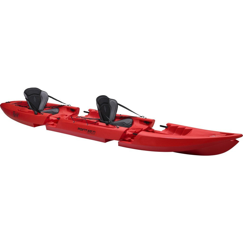 Point 65 Tequila! GTX Modular Kayak Mid Section | Red 40