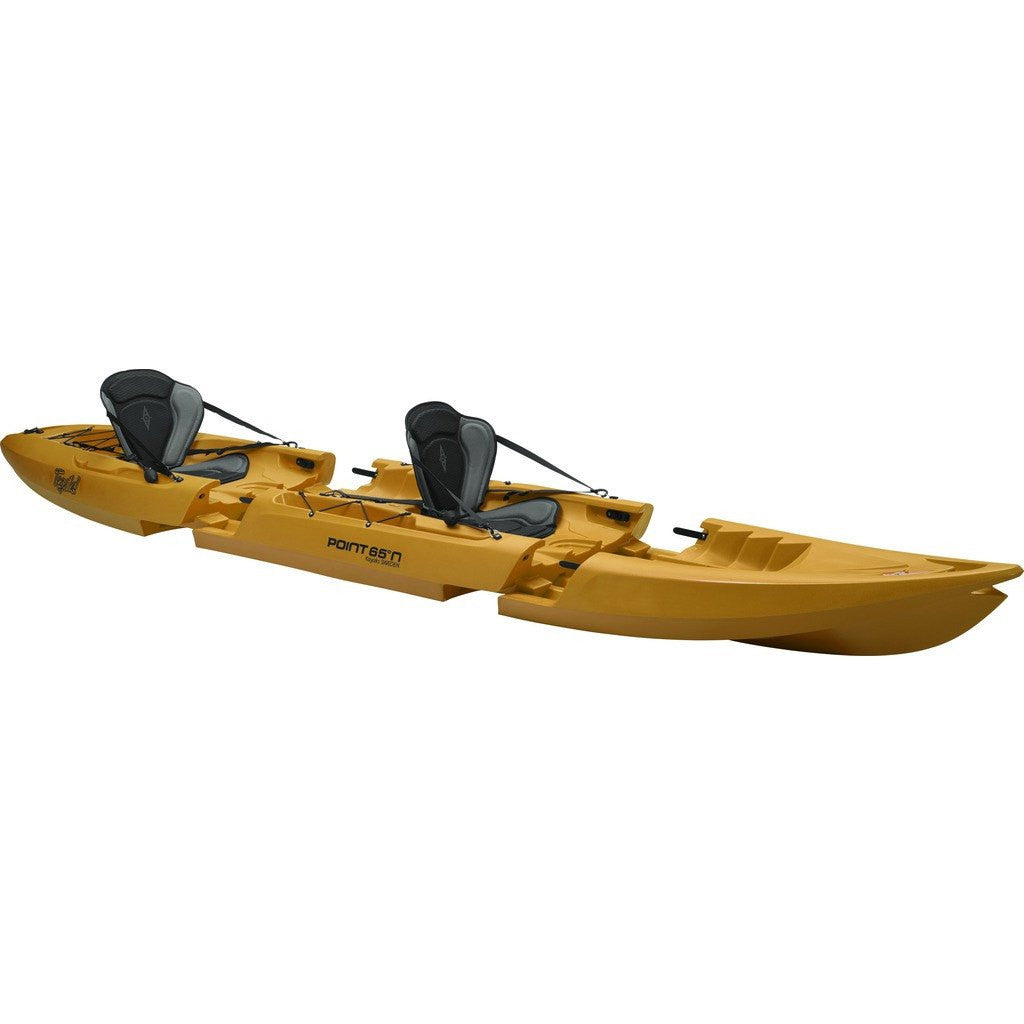Point 65 Tequila! GTX Modular Tandem Kayak | Yellow