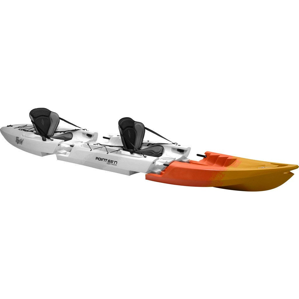 Point 65 Tequila! GTX Modular Kayak Front Section | Yellow/Orange