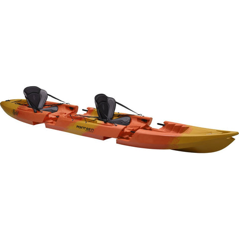 Point 65 Tequila! GTX Modular Tandem Kayak | Yellow/Orange