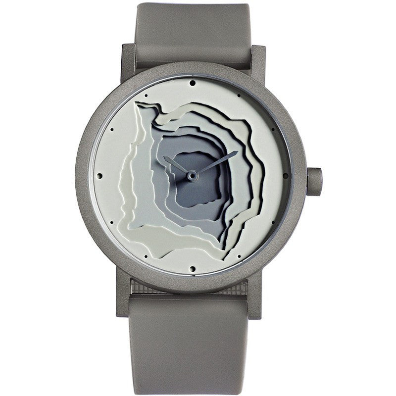 Projects Watches James Wines Terra-Time Watch | Grey TERRA