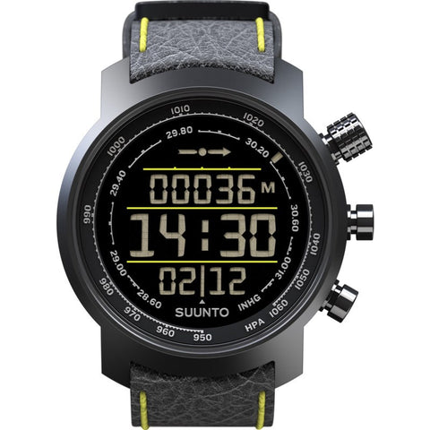 Suunto Elementum Terra Altimeter Watch | Black/Yellow SS019997000