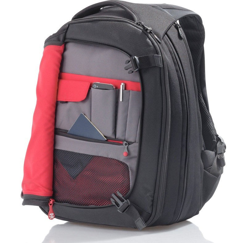 Crumpler Dry Red No 6 Laptop Backpack | Black