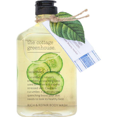 The Cottage Greenhouse Rich and Repair Body Wash | Cucumber & Honey - 24BW5