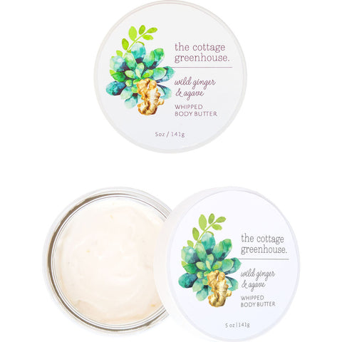 The Cottage Greenhouse Whipped Body Butter | Wild Ginger & Agave