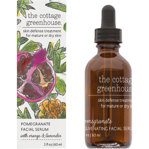 The Cottage Greenhouse Facial Serum | Pomegranate- 24X1
