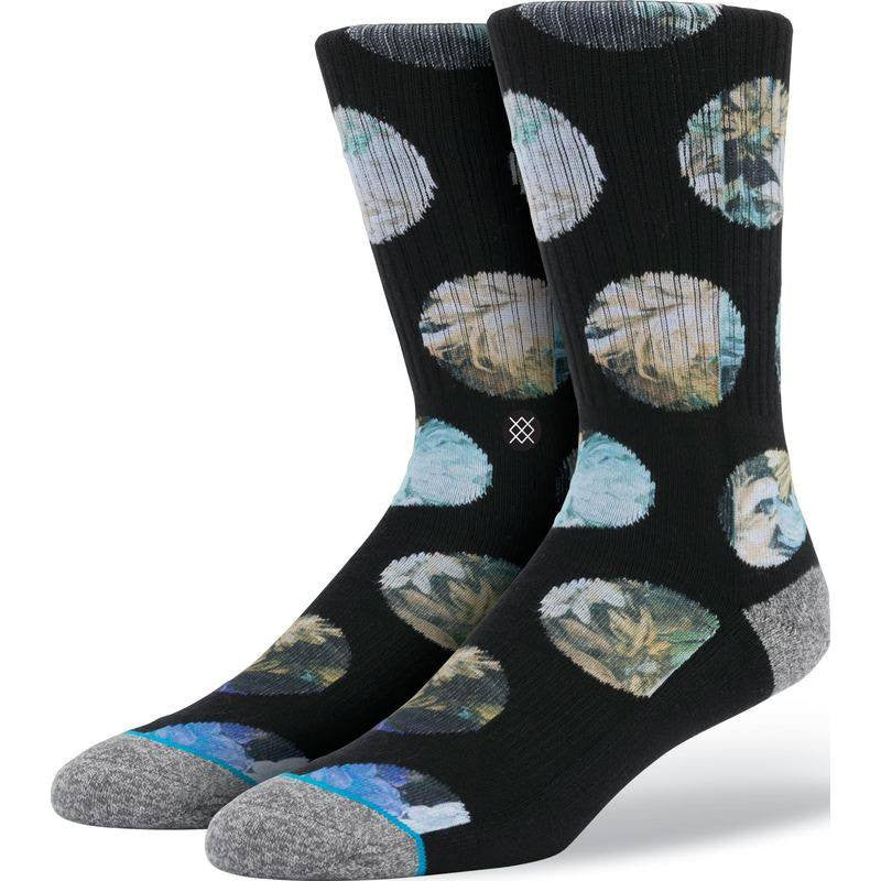 Stance The Spot Men's Socks | Black L/XL