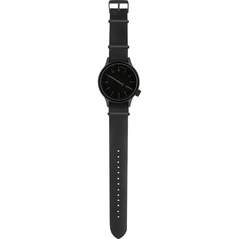 Komono The One Watch | Black KOM-W1904