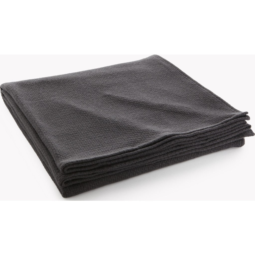 Faribault Thermal Weave Wool Blanket | Charcoal 11250 Twin/11267 Queen/11274 King