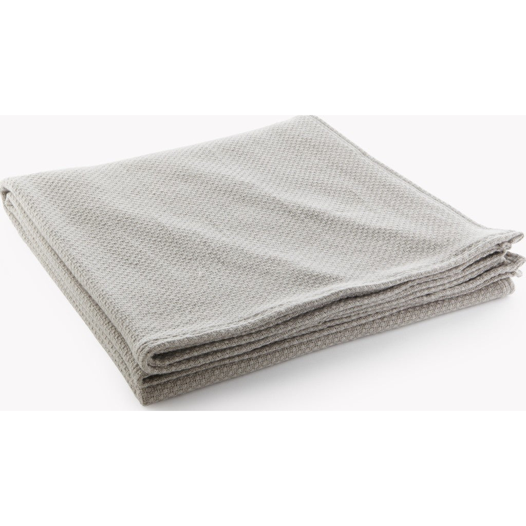 Faribault Thermal Weave Wool Blanket | Feather Gray 11281 Twin/11298 Queen/11304 King