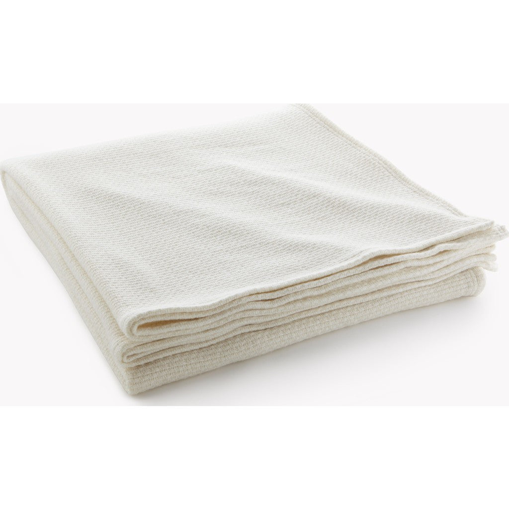 Faribault Thermal Weave Wool Blanket | Bone 12219 Twin/12226 Queen/12233 King