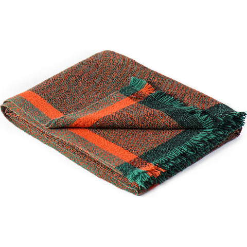 Zuzunaga Thinking Throw Blanket | Merino Wool