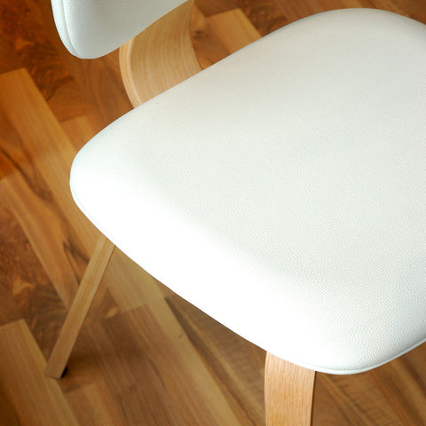 Gus* Modern Thompson Chair | Oak/White ECCHTHOM-on-wv