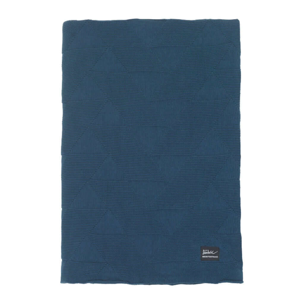 Architectmade FJ Pattern Blanket | Blue