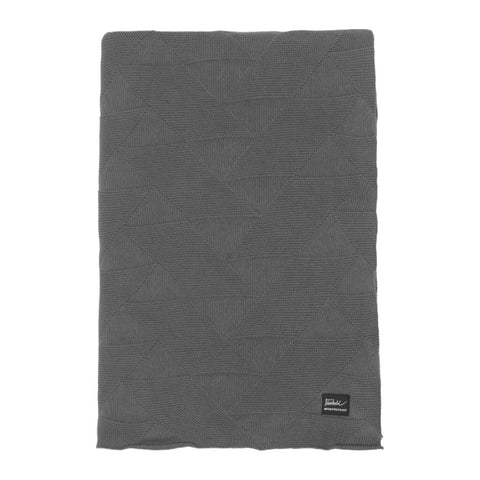 Architectmade FJ Pattern Blanket | Grey