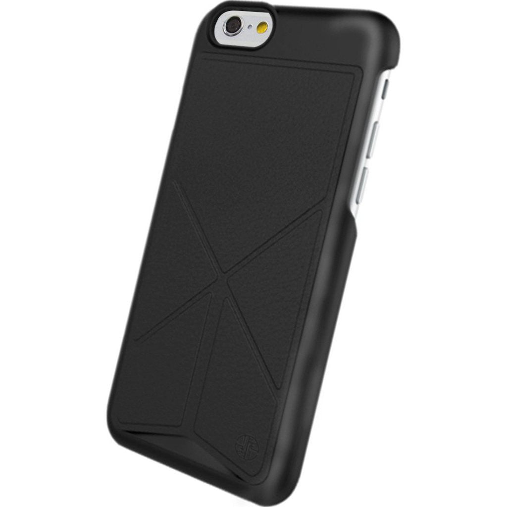 DRACO Design Tigris Polycarbonate Hard Shell Stand iPhone 6/6s Case | Black TI60LP4-BK